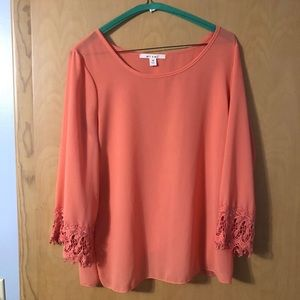 Coral NEVER WORN blouse